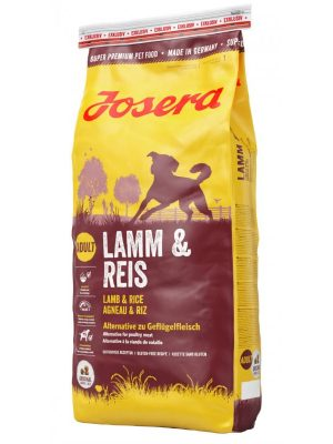 Josera Lamb & Rice Gluten Free 15kg