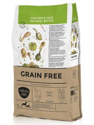 Natura Diet Grain Free Chicken & Vegs Natural Recipe 12kg