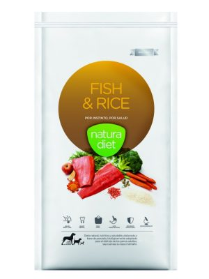 Natura Diet Fish & Rice 500gr