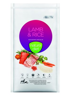 Natura Diet Lamb & Rice 500gr