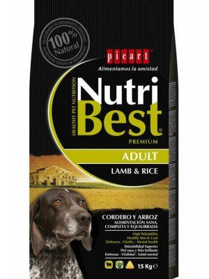 Picart Nutribest Lamb & Rice 15kg