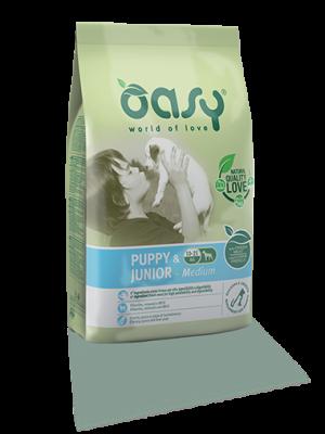 Oasy Puppy & Junior Medium 18kg