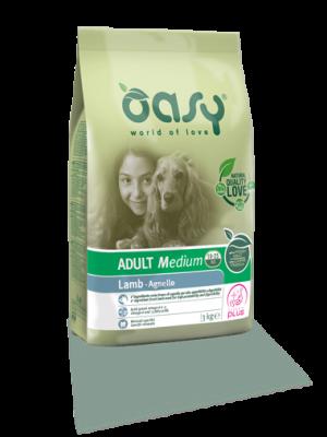 Oasy Adult Medium Lamb 12kg