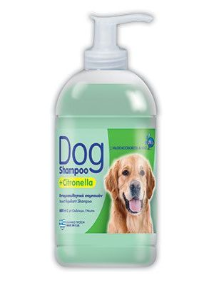 DOG SHAMPOO CITRONELLA 600ml
