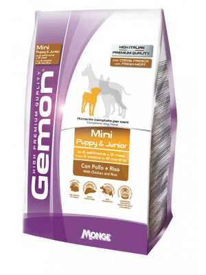 Gemon Mini Puppy & Junior Chicken & Rice 3kg