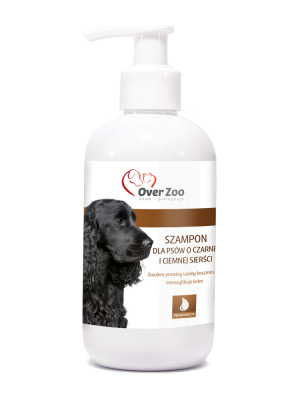 Shampoo for dogs of black and dark coat 250ml