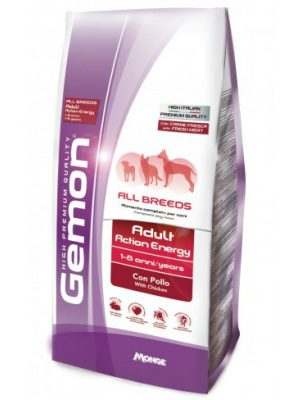 Gemon Dog Adult Energy All Breeds Chicken 15kg