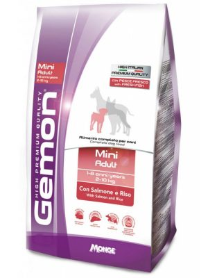 Gemon Dog Adult Mini Salmon & Rice 3kg