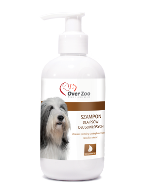 Shampoo for long coated dogs 250ml