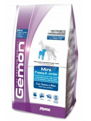 Gemon Mini Puppy & Junior Tuna & Rice 3kg