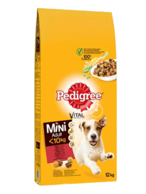 Pedigree Adult Mini Beef 12kg