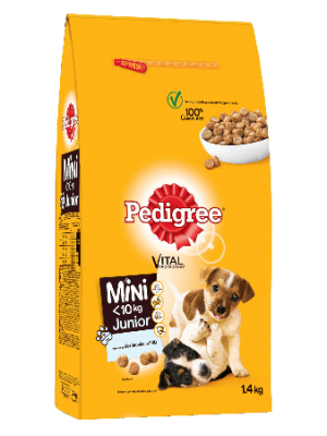 Pedigree Junior Mini Chicken 1.4kg