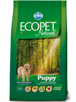 Ecopet Natural Puppy Medium 12kg