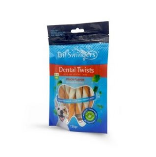Tail Swingers Dental Sticks With Peach 130gr