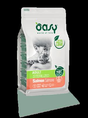 Oasy Adult Sterilised Salmon 1.5kg