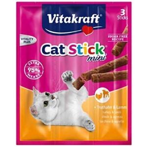 Vitakraft Cat Stick Turkey & Lamb 3τμχ