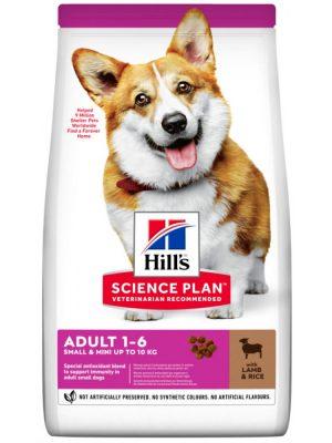 Hill's Science Plan Adult Small & Mini Lamb & Rice 3kg