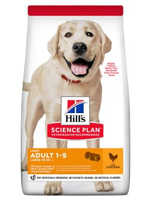 Hill's Science Plan Adult Light Large Breed Chicken 12kg