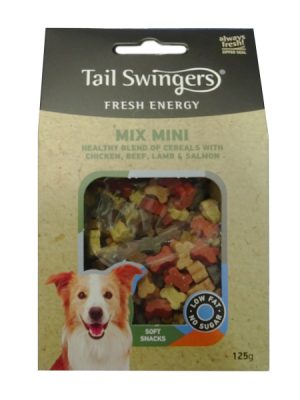Tail Swingers Naturest Fresh Energy Mix Mini 125gr