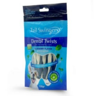 Tail Swingers Dental Sticks With Blueberry 130gr