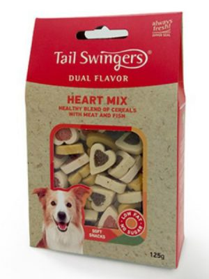Tail Swingers Dual Flavor Heart Mix 125gr