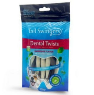 Tail Swingers Dental Sticks With Barbeque 130gr