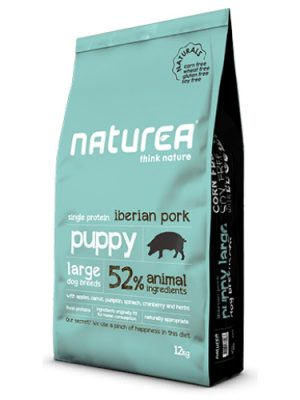 Naturea Naturals Puppy Large Breed Iberian Pork 12kg