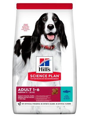Hill's Science Plan Adult Advanced Fitness Medium Tuna & Rice 12kg