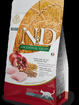 N&D Low Grain Chicken & Pomegranate Adult Cat 10kg