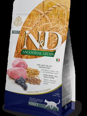 N&D Low Grain Lamb & Blueberry Adult Cat 10kg