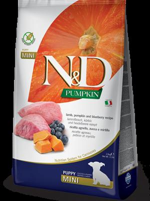 N&D Grain Free Pumpkin Lamb & Blueberry Puppy Mini 7kg