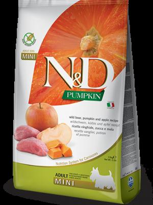 N&D Grain Free Pumpkin Boar & Apple Adult Mini 2.5kg