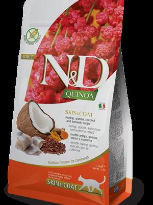 N&D Grain Free Quinoa Skin & Coat Herring 1.5kg