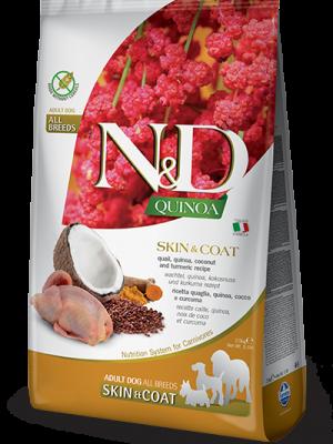 N&D Grain Free Quinoa Skin & Coat Quail 7kg