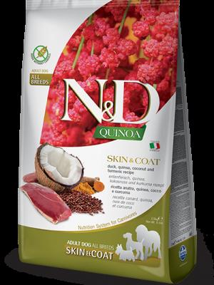 N&D Grain Free Quinoa Skin & Coat Duck 2.5kg
