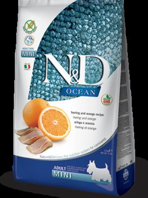 N&D Grain Free Fish & Orange Adult Mini 2.5kg