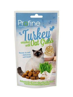 Profine Cat Soft Treat Turkey with Oat Grass 50gr