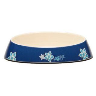 Cat Fishcake Blue Floral 200ml