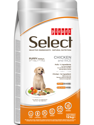 Picart Select Puppy Medium Chicken & Rice 12kg