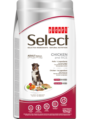 Picart Select Adult Medium  Chicken &Rice 12 kg