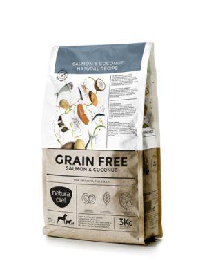 Natura Diet Grain Free Salmon & Coconut 3 kg