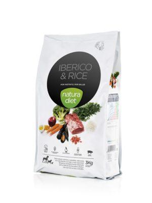Νatura Diet Iberico & Rice 3kg