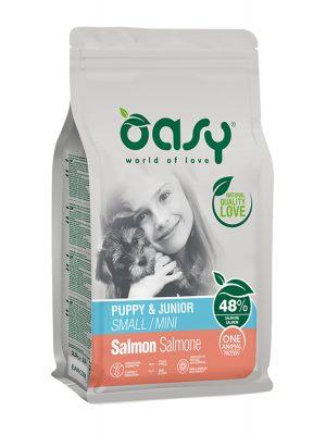 Oasy Puppy Small – Mini Salmon 2.5kg