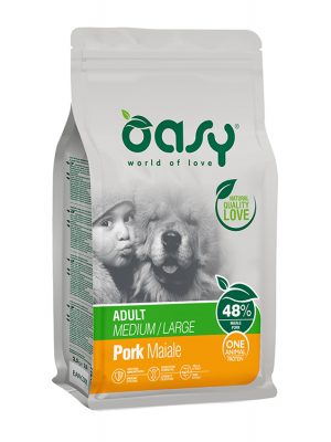 Oasy Adult Medium & Large Breeds Pork 12kg