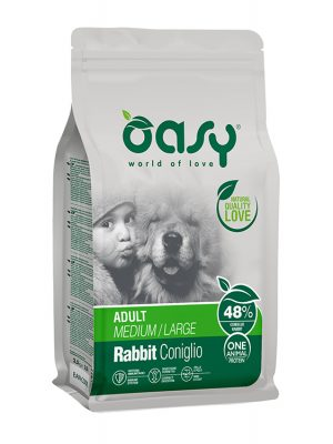 Oasy Adult Medium & Large Breeds Rabbit 12kg