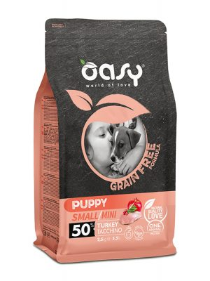 Oasy Puppy Small / Mini Γαλοπούλα 2.5kg