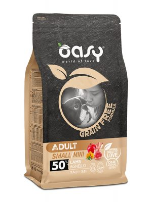 Oasy Adult Small / Mini Αρνί 2.5kg