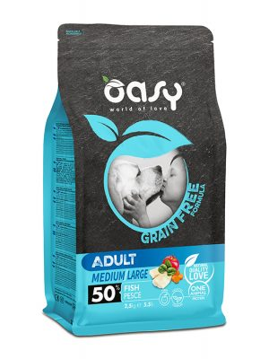 Oasy Adult Medium / Large Ψάρι 2.5 kg