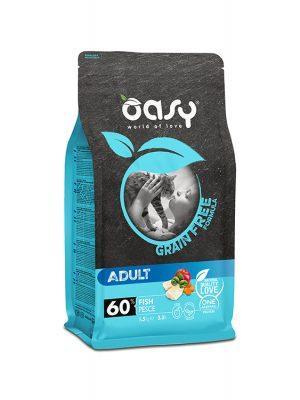 Oasy Grain Free Adult Ψάρι 1.5kg