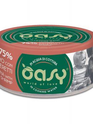 Oasy More Love Τόνος Με Γαρίδα 70gr